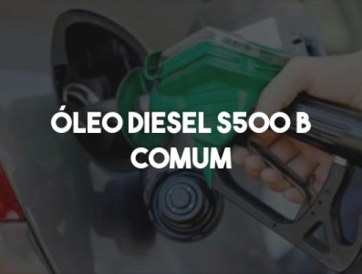 Óleo Diesel S 500 B Comum